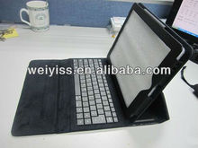 Easy hands !!! tablet pc leather case bluetooth keyboard