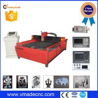 low cost Plasma Cutter/Sheet Steel CNC Table Plasma Cutting Machine/Plasma cutting machine For SS made in China