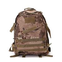 multi-functional police combat backpack Battle Snake Camouflage Highlander Military Waterproof Backpack