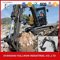 34tons earthmoving excavator gold supplier heavy construction machine for sale