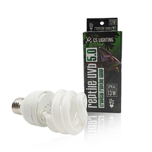 13W 5.0 Reptile Lamp, Reptile UVB Bulb, UVB Spiral Fluorescent Bulb For Tropical Reptiles