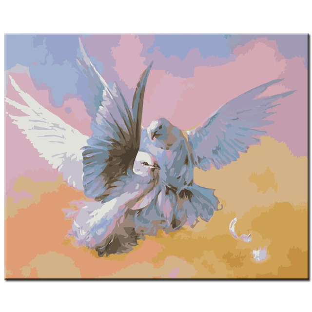 Oil painting bird Paint On Canvas Modern Wall Pictures For Living Room