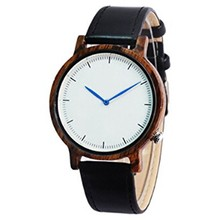 High quality business classic mens quartz watch in leather
