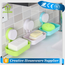 FY5252 Hanging Plastic Strong Suction Cup Soap Dish Holder