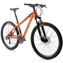"china wholesale mountain bike 27 speed 15.5"" 16.5"" 17.5"" height Aluminum frame bicicleta mtb with high-end oil disc brake"