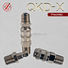 QKD-X Mini type quick connect air fittings for medical equipments