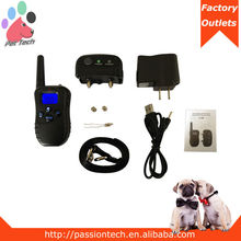 Passiontech P-188 blue backlight pet train products remote training harness