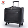 High Quality PU Trolley Luggage Boarding
