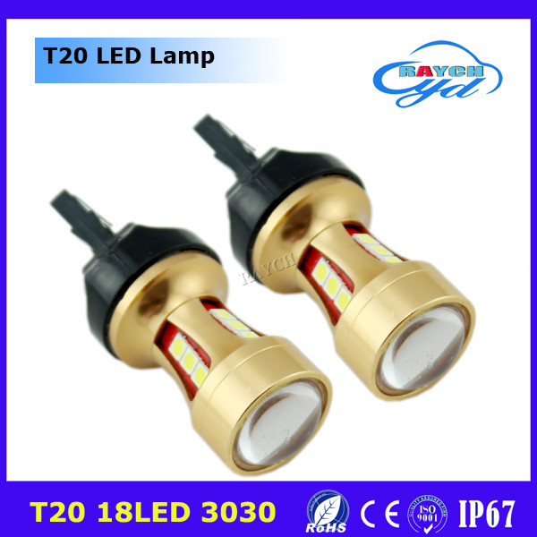 T20 led car turn signal switchback bulbs,t20 led,t20 car light led bulb 18smd 1156 1157 T20 LED car bulb