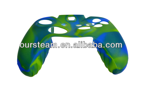 Camouflage waterproof silicone case for xbox one wireless controller cover case