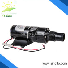 Singflo 12V 49L/min portable self priming sewage pump for mobile toilets