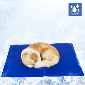 china wholesale blue extra large dog pet cooling mat