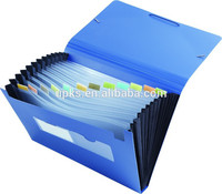 Plastic a4 file folders cases classic
