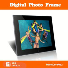 DPF-8010 8 inch super slim picture calendar+clock+memory+ ebook digital photo frame