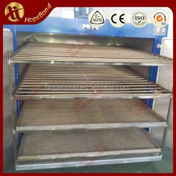 Double doors hot air circulation oven glass bottle jay tray dryer