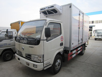 Hot sale Cheap Price Dongfeng Light Duty Right Hand Drive 4x2 4x4 Off-road 5tons Reefer Truck