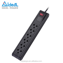 10A Power Strip Surge Protector for Home Device Protection(Anti-flammable)