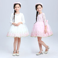 2016 summer latest children frocks designs girl dress of 9 years old