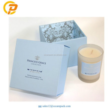 Recyclable Accept Custom Order Candle Glass Jars Packaging Boxes