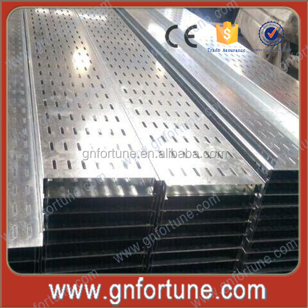 Full Size 200x50mm Galvanized Metal Cable Trunking