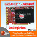 AMD Radeon HD7750 2GB GDDR5 PCIE3.0 6x mini displayports multi-display Card