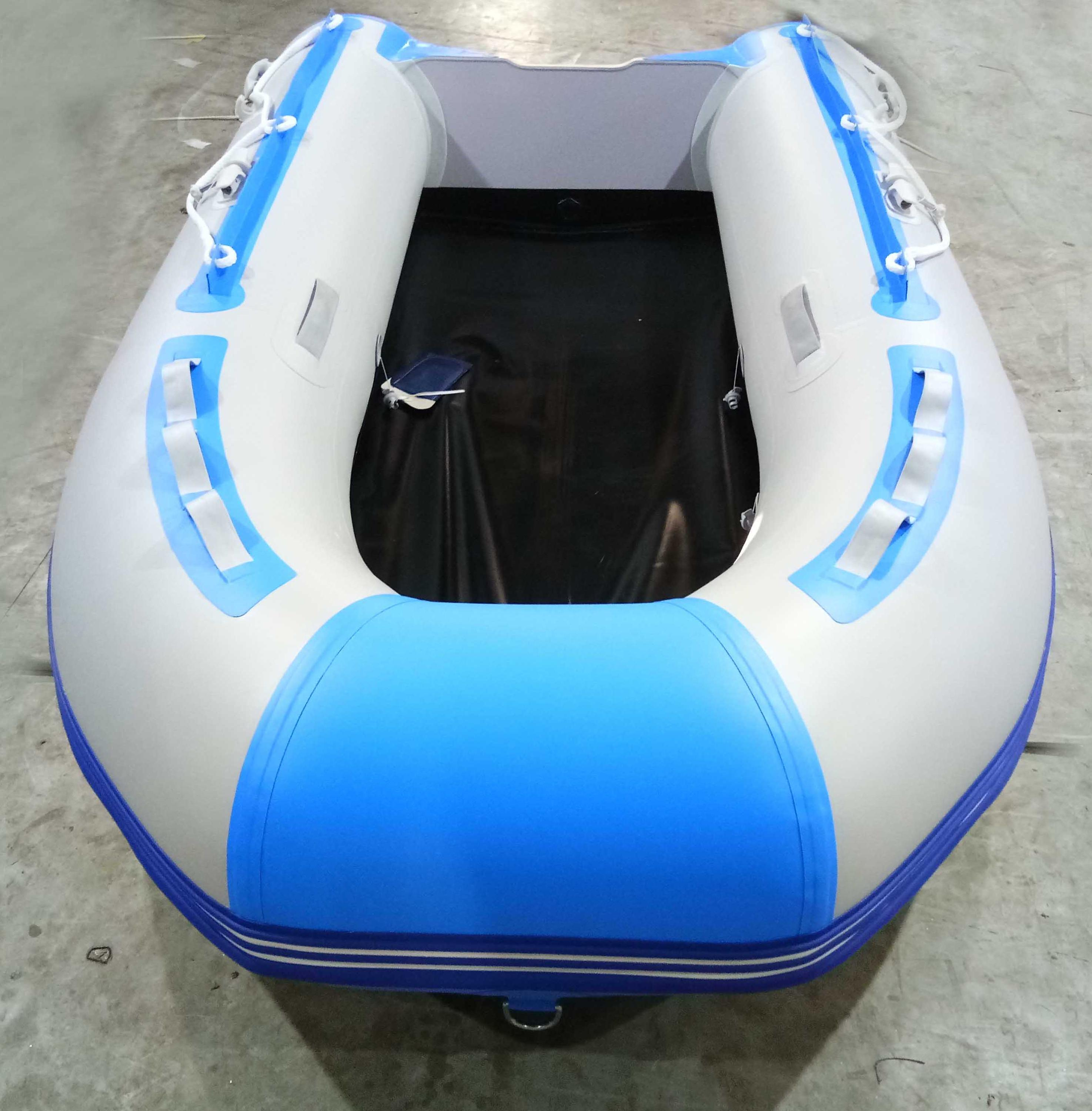 3m light grey and sky blue color inflatable BOAT CE approved for summer sport