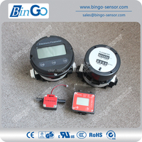 Diesel flow meter, economic oval gear flow meter for high viscosity oil
