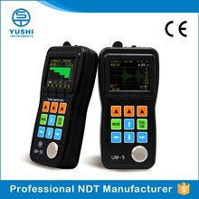 YUSHI UM-5DL Color OLED Display Stainless Steel Ultrasonic Thickness Gauge Tool With Standard Probe TC510