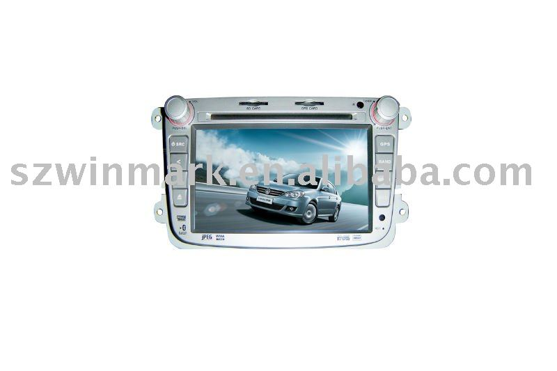 7in 2 din in dash special car dvd player for vw lavida