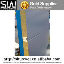 Insulated fireproof glasswool sandwich roof/wall panels with PU side sealing