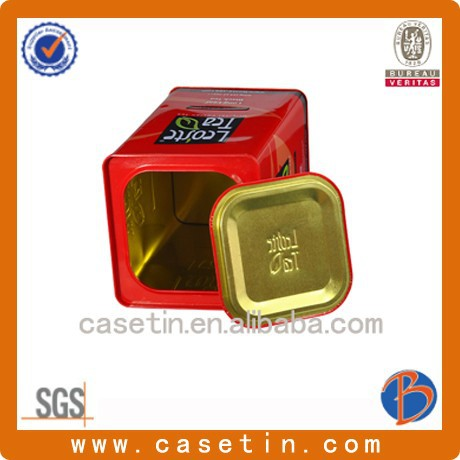 fine tea metal tin box /colored multifunction metal tin box