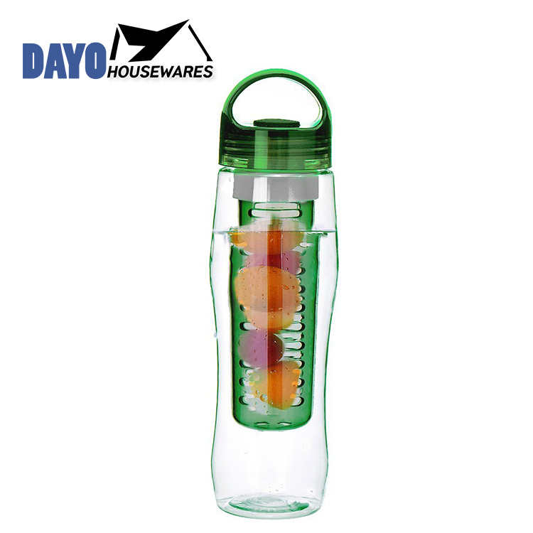 Logo Printed Dissimilarity Fancy Colourful Fruit Water Bottle