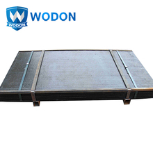 Molybdenum manganese carbide alloy wear resistant compound plates