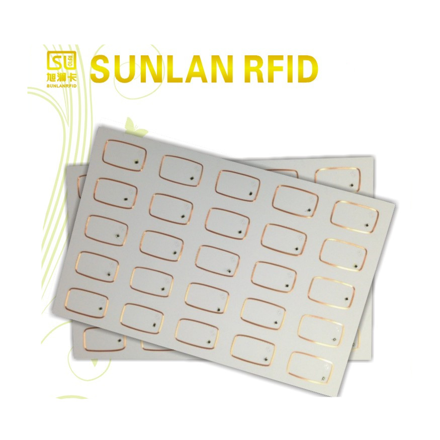 LF rfid EM4102 inlay for contactless smart IC card