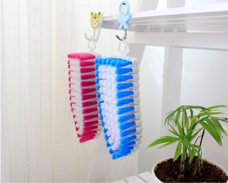 House Bathroom Kitchen Toilet Flexible Cleaning Brush