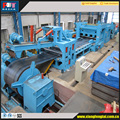 automatic steel coil leveling and cutting machine