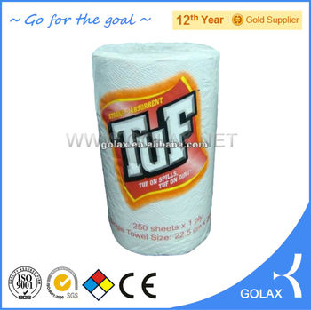 Recycled pulp hand paper towel paper hand towel roll perfect for public bathroom