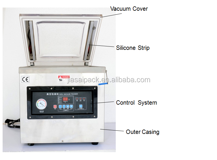 vacuum sealer dz400 Vacuum Packer Packaging food no air
