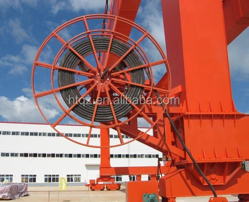 Factory price cable reel drum 100m, high quality retractable cable reel, spring load cable reel design