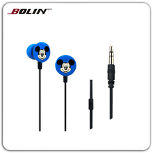 Fashion Headset Earphone Micro Earpiece/Earbuds For Iphone/Samsung/HTC UF04