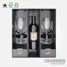 Wholesale Hot Selling High-End Custom Paper Lucury Wine Gift Box