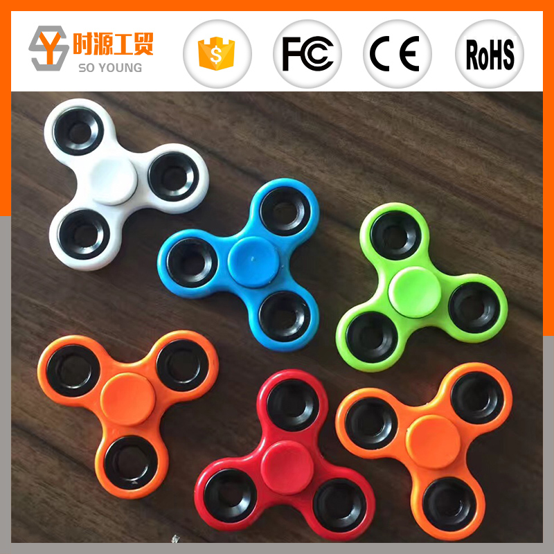 2017 NEW Coloful Hand Fidget directly from china factory fidget spinner toy Spin Toy 608 steel