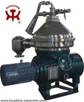 Disc oil separator for oil and fat refining