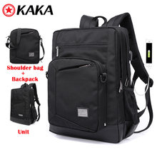 kaka New Fashion Multifunctional Camera Bag Travel Outdoor Tablet Laptop Backpack with shoulder bag Unit