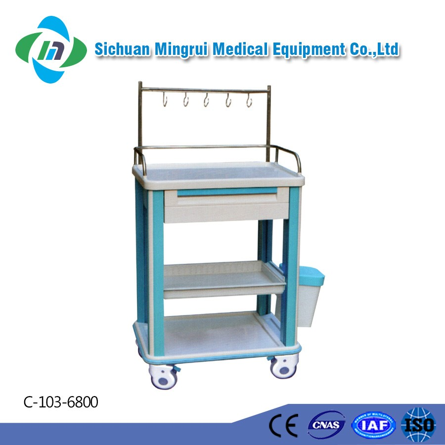 Approved manufacturer convertible medical types of service trolley
