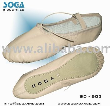 Soft Leather ballet dance shoes