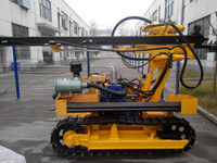 20meter Bore hole Depth Crawler Drill rig with Canada Stardand