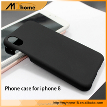 Good quality Grinding of pure color of PC material cell phone case for iPhone 8 for iphone 6/7/7plus
