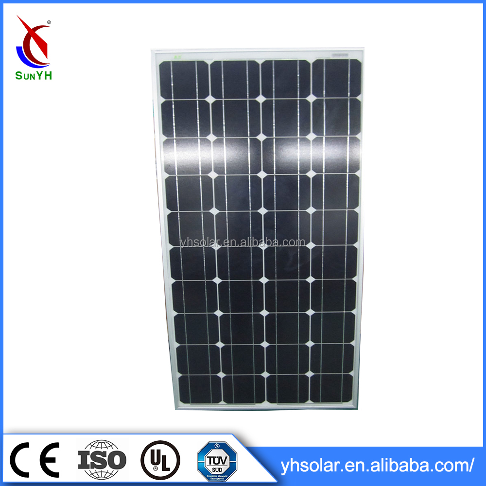6 inches portable solar panel , 120w solar panel for power home system