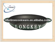 Hot Sale Opened Cast Iron Paella Pan